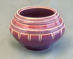 red carved vase by cl2007