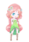 (CLOSED) Adoptable: Daisy Chibi by Frappe7