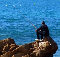 Fishing In Spain by RebeccaFB