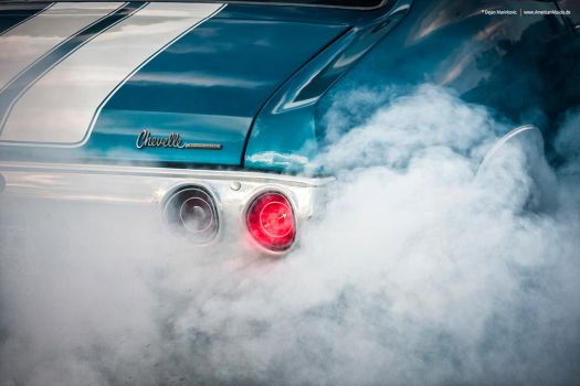 Chevelle Burnout by AmericanMuscle