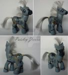 My little Pony Custom G3 Zecora Paisley Style by BerryMouse