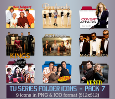 TV Series - Icon Pack 7 by apollojr