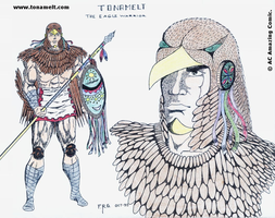 Tonamelt Eagle Warrior by alexcruz
