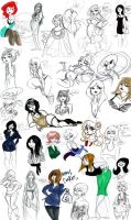 Oodles of Doodles pt 2 by TracyLeeQuinn