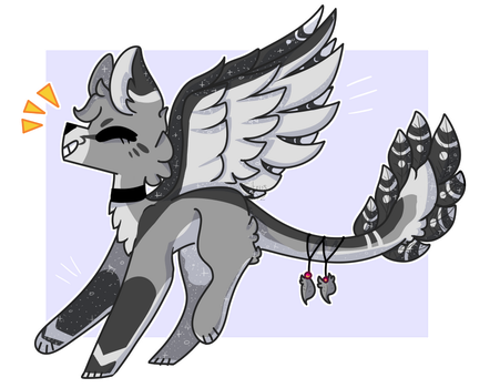Walking On Air (comm) by Citrusdayz