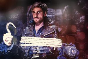 Captain Hook/ Killian Jones wallpapers by Venerka