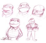 Jazz Animal: Frog Sketches by Space-Jacket