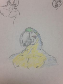 Me the macaw by StrongestBird