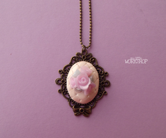 Necklace Romantic Roses by SulkyB