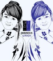 Jeje JKT48 LineART by indrorobo