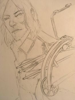 In process - Daryl [2] by MlleChouette