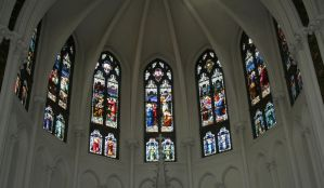 Denver Cathedral Window 29 by Falln-Stock