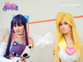 Panty and Stocking - Fly away by adami-langley