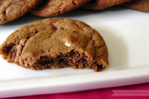 Nutella Double Choco Chip Cookies 1 by maytel