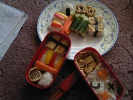 Bento Box by yohlenyaoilover
