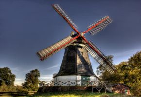 Mill of Worpswede by littleriverqueen