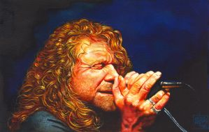 Robert Plant by oazen2008