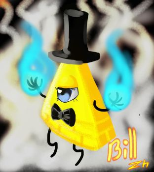 Bill Cipher by ZhakoLime
