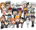 Bleach Chibi by the-squid-master
