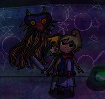 PC: Majoras mask Fight by TeLinkfan1