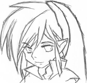 Link Sketch by El-Iva