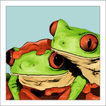 Red Eyes Tree Frogs by Little-Vampire