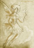 lily fairy sketch by Nuctameron