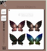 Object Pack - Wings 02 by MouritsaDA-Stock