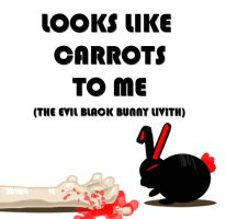 The Evil Black Bunny Livith by MsKeller