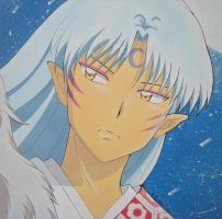 Sesshomaru moonlight by giulystar-chan