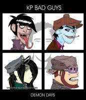 KP-Gorillaz - Demon Days 2 by The-Bundycoot