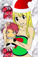 Fairy Tail NaLu Christmas by RLawt0n