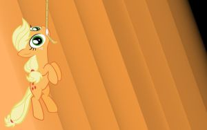 Just Hanging Around Wallpaper [contest entry] by Apple-Jack1000