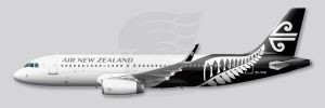 A320 Air New-Zealand profile by Inuksuk