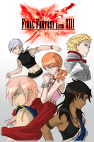 Final Fantasy Alter XIII Poster by VnixxiR