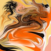 Swirling Madness: Orangeness by ssnapey22