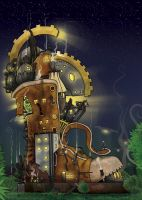 The Steam Boot by AstroHelix