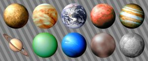 Planetary Icons for Windows by JollyGreenJustin