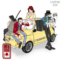 Lupin III by cannibaljim