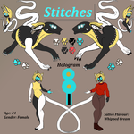 MTT Adoption Contest - Stitches for No 139 by Syreneln