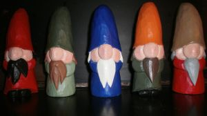 Finished and Painted Gnomes by Des804