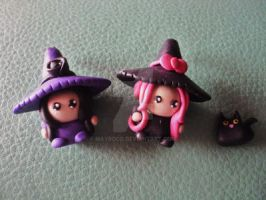 Chibi Witches by MayRoco