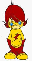 Kid Flash as Precious Moments by missT11