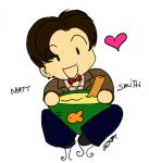 Matt Smith + His Fish Custard by JSRFBeat