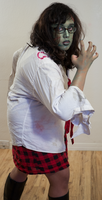 Zombie School Girl 11 by Angelic-Obscura