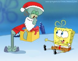 Regalo di Natale per SpongeBob by StePandy