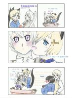 Fancomic nekomimi!NorIce by SoraSol