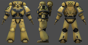 imperial fist 3d model by the-Higgins