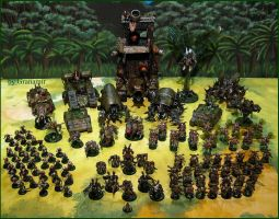 Space Marines Nurgle  Update2012 Update by Granamir