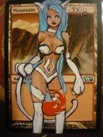 Magic The Gathering Altered FELICIA :3 by OneWingedSoul